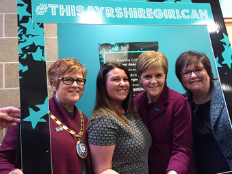 FM Launches This Ayrshire Girl Can