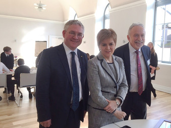 First Minister Reopens Saltcoats Town Hall