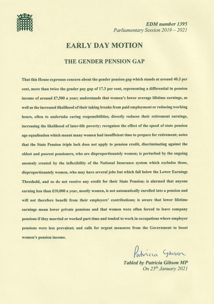 THE GENDER PENSION GAP SCANDAL