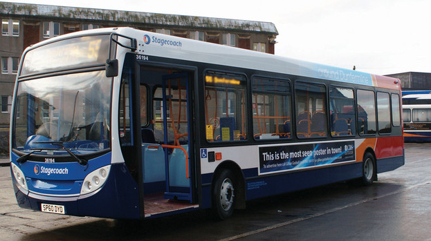 Stagecoach Bus Surgery in Beith