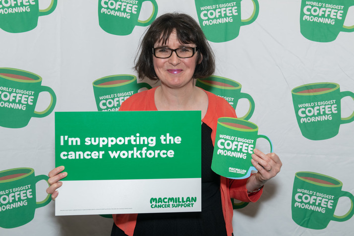 RAISE A MUG IN SUPPORT OF MACMILLAN'S COFFEE MORNING