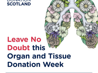 West Kilbride Resident urges People to Record Organ Donation Decision
