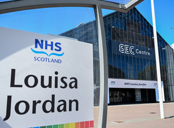 315 Outpatients seen at NHS Louisa Jordan this Month