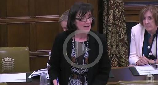 Patricia Speaks in Funeral Poverty Debate