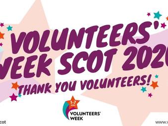 01-07 June is National Volunteers' Week