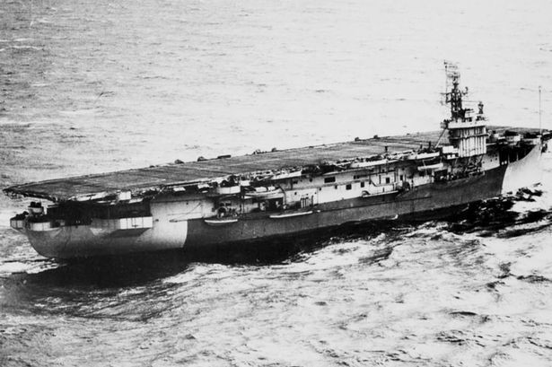 HMS Dasher - 73rd Anniversary