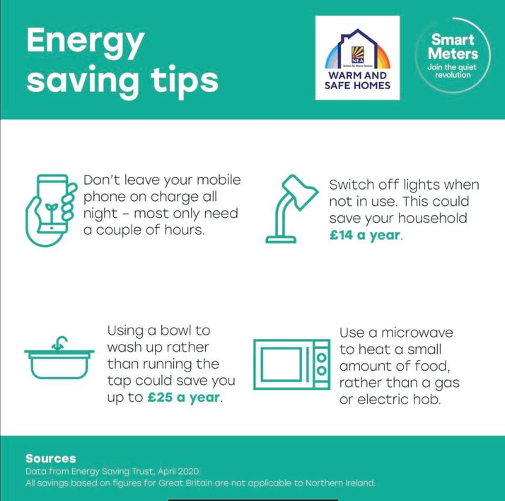 SMARTER WAYS TO SAVE ON ENERGY BILLS