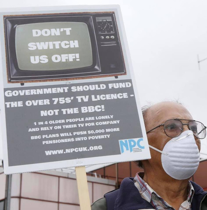 TORIES HIKE TV LICENCE FEES TODAY AS PANDEMIC CONTINUES