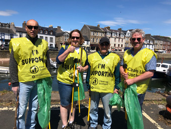 Kenneth's Annual Cumbrae Litter Pick