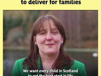 Make it #BothVotesSNP to deliver for families