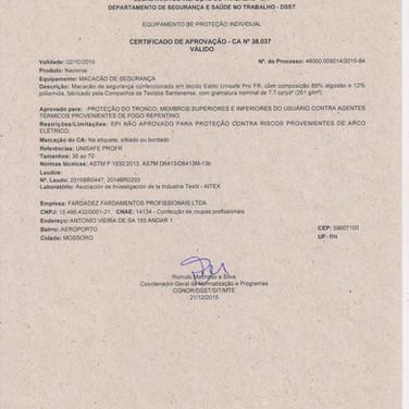CA 38.037(MACACÃO)