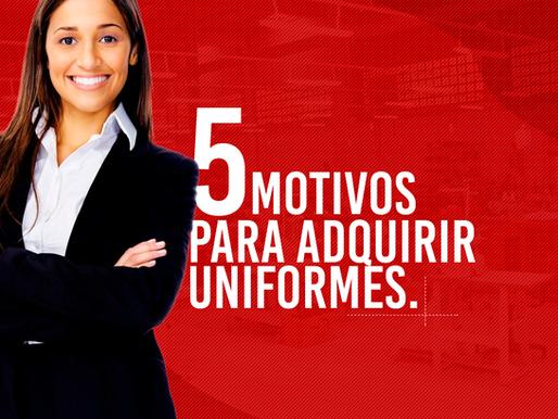 5 Motivos Para Adquirir Uniformes Personalizados Para Sua Empresa.