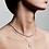 Thumbnail: Pilgrim Necklace : Bathilda : Silver Plated
