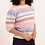 Thumbnail: Colors striped 3/4 Sleeve Sweater