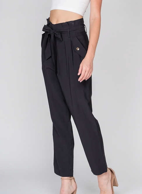 Ankle Length High Waist Pant