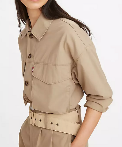 Levi's Loose Utility Trucker - Soft Structure Incense Brown