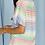 Thumbnail: Tie Front Multi Colors Shirt