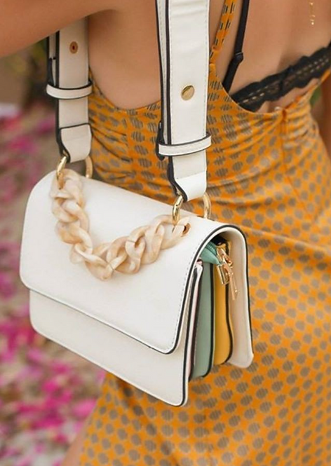 Multi Colors Shoulder Bag