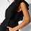 Thumbnail: Black Button Up Front Jumpsuit