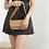 Thumbnail: Scalloped Strap Shoulder Bag - Tan