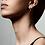 Thumbnail: Earrings : Magda : Silver Plated