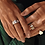 Thumbnail: Pilgrim Ring : Maren : Gold Plated