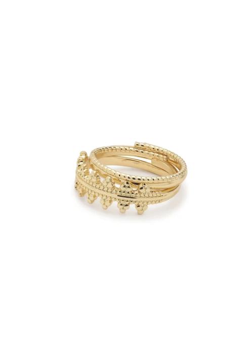 Ring : Kiku : Gold Plated
