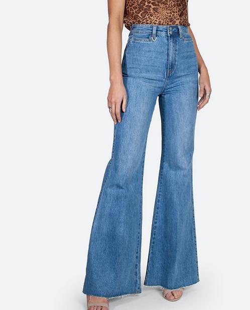 High Waist Flared Jean