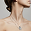 Thumbnail: Necklace : Sensitivity : Silver Plated