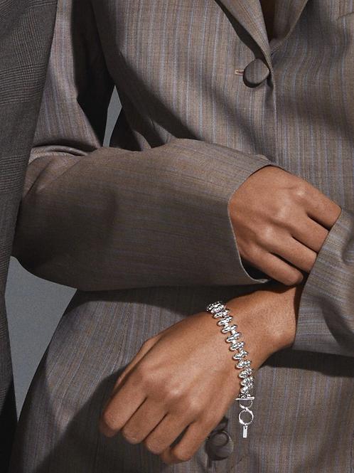 Bracelet : Affection : Silver Plated