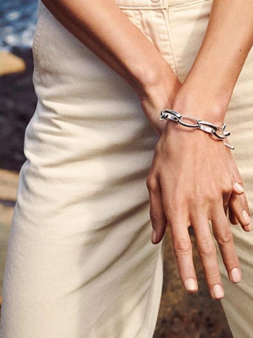 Bracelet : Ran : Silver Plated
