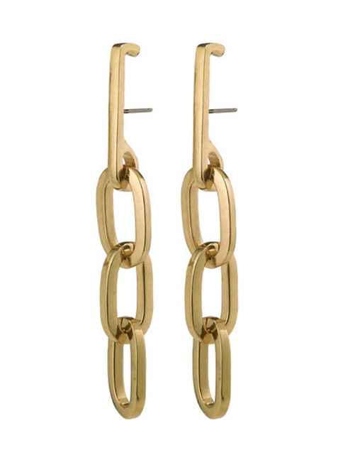 Earrings : Halle : Gold Plated