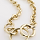 Thumbnail: Pilgrim Necklace : Heritage : Gold Plated
