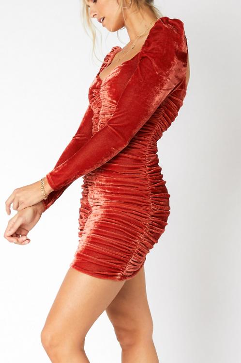 DS0053 Short Dress