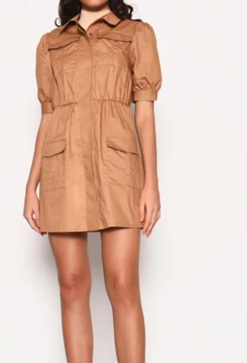 DS0046 Short Dress