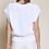 Thumbnail: Cable Knit Vest - Off White