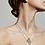 Thumbnail: Pilgrim Necklace : Sensitivity : Gold Plated