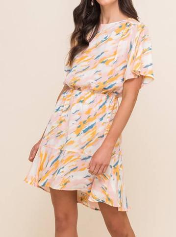 DS0037 Short Dress