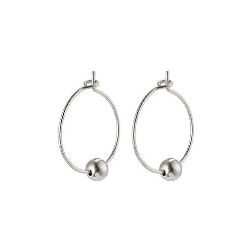 Earrings : Meg : Silver Plated