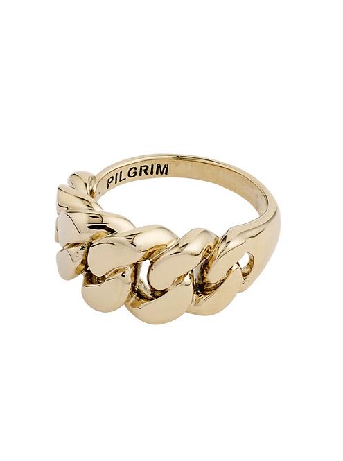 Pilgrim Ring : Maren : Gold Plated