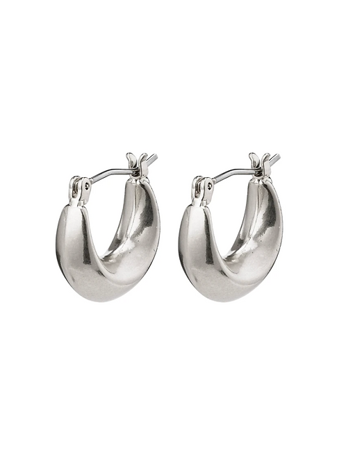 Earrings : Magda : Silver Plated