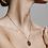 Thumbnail: Pilgrim Necklace : Sagittarius Zodiac Sign : Gold Plated : Crystal