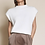 Thumbnail: Sweater Vest with Shoulder Pads - Off White