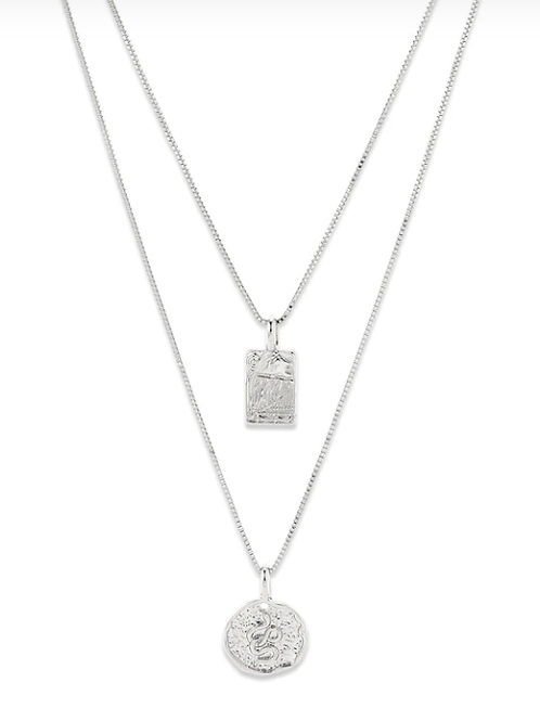 Necklace : Valkyria : Silver Plated