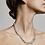 Thumbnail: Pilgrim Necklace : Sensitivity : Silver Plated