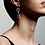 Thumbnail: Earrings : Halle : Silver Plated