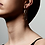 Thumbnail: Earrings : Halle : Gold Plated