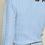 Thumbnail: Soft Pearl Button Knit Cardigan -Blue