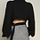 Thumbnail: Knit Cut Out Back Turtleneck (2Colors)