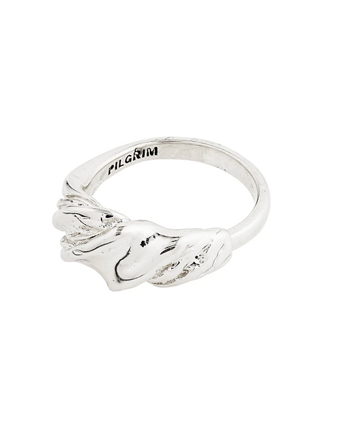 Pilgrim Ring : Simplicity : Silver Plated